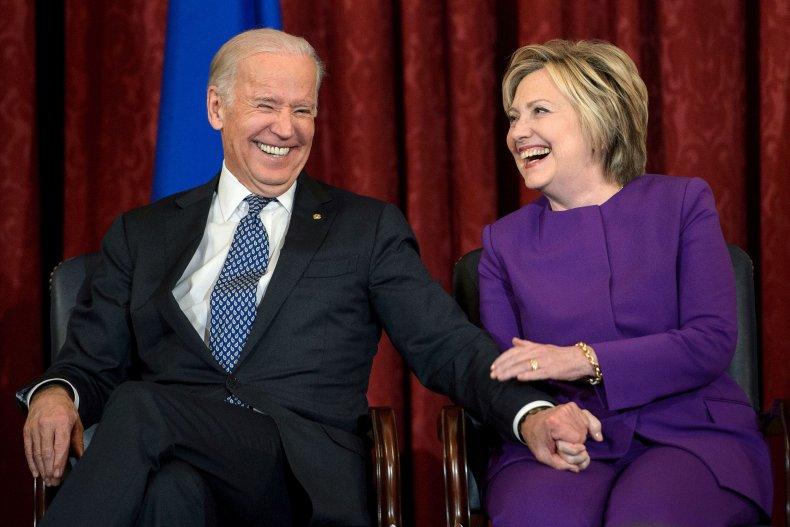 Hillary Clinton Joe Biden Poll Against Trump