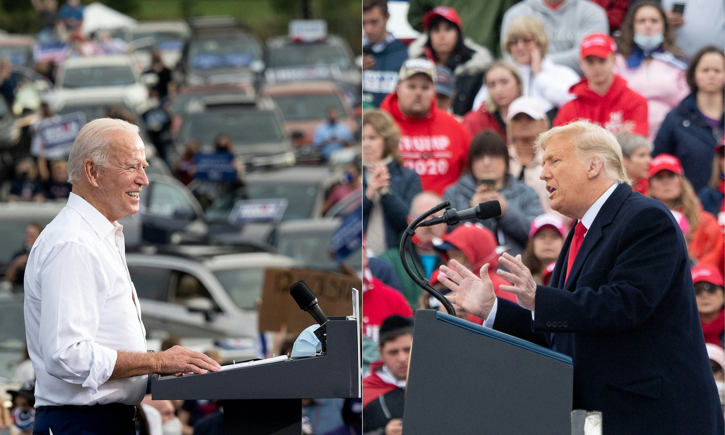 Trump trails Biden by 8% in Fox News national poll of likely voters