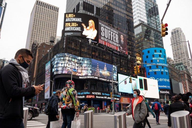 Lincoln Project billboard