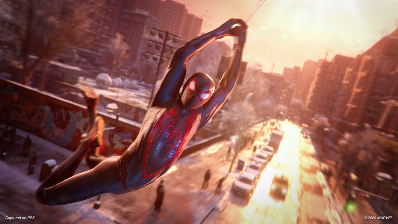 spider man miles morales ps5 review swing
