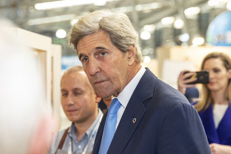 Former U.S. Secretary of State John Kerry