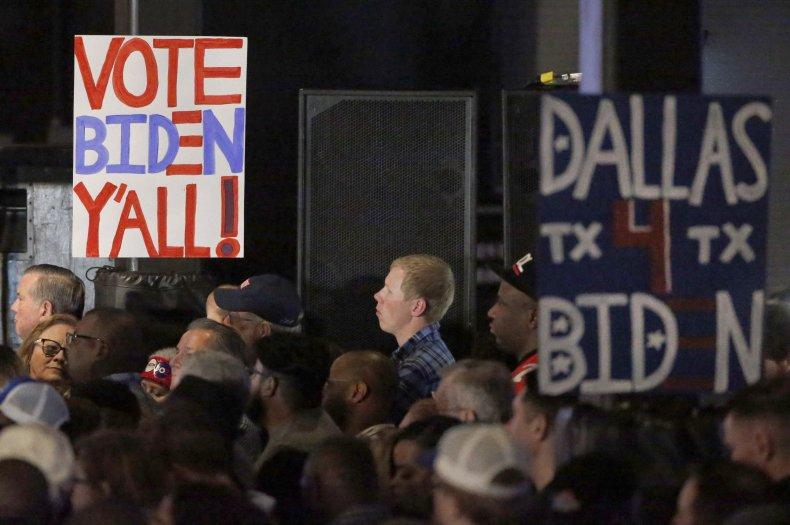 Texas Biden rally