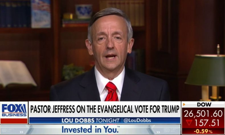pastor robert jeffress evangelical trump