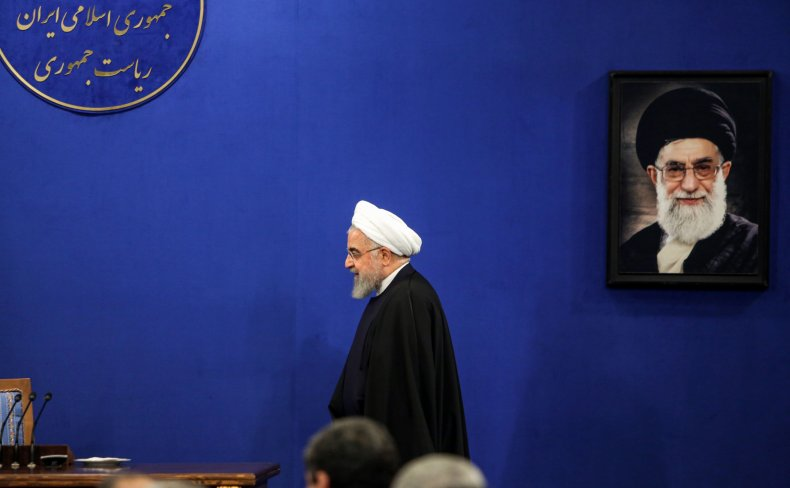 Iran Rouhani Khameini