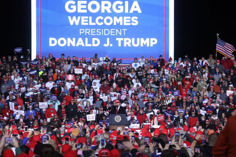 Trump rally Georgia