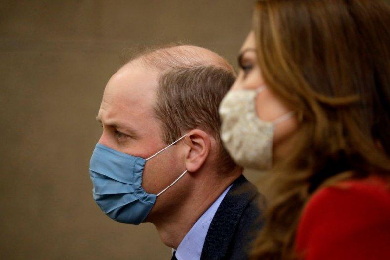 Prince William and Kate Middleton Coronavirus Masks