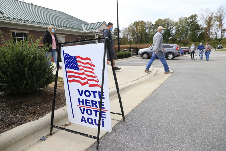 Getty Images Voting 2020 NC