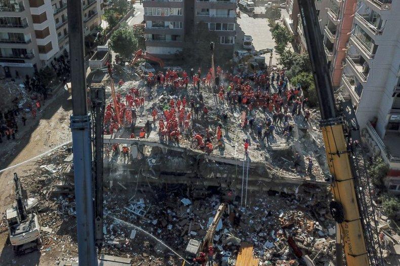 Izmir Turkey earthquake
