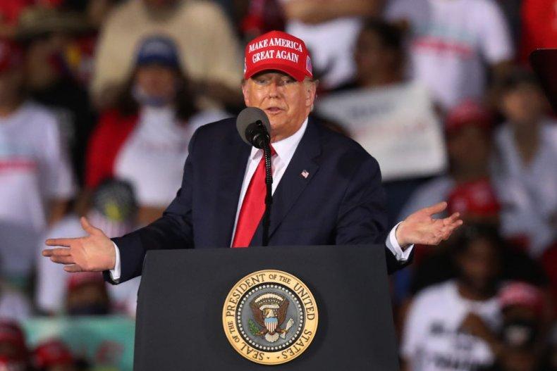 President Donald Trump Campaign Stop Florida