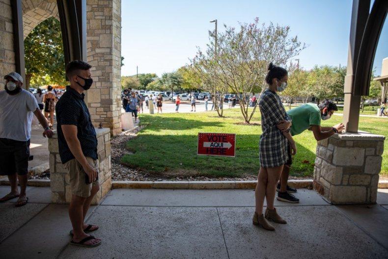 Voters 2020 Election Texas