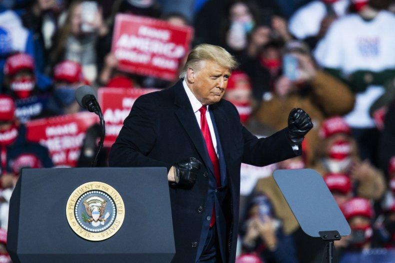 Trump rally Montoursville, Pennsylvania October 2020