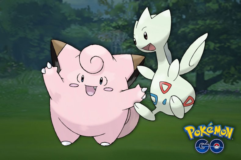 pokemon go clefairy togetic research tasks