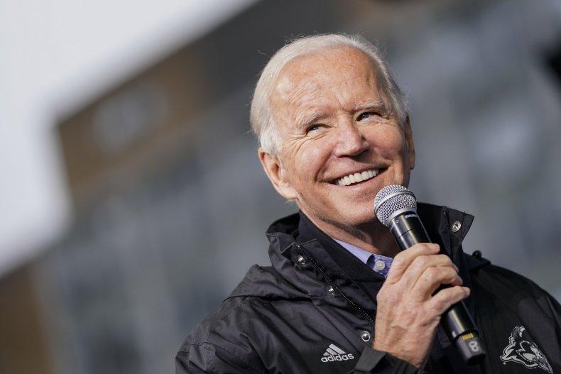 Joe Biden campaigns Pennsylvania November 2020