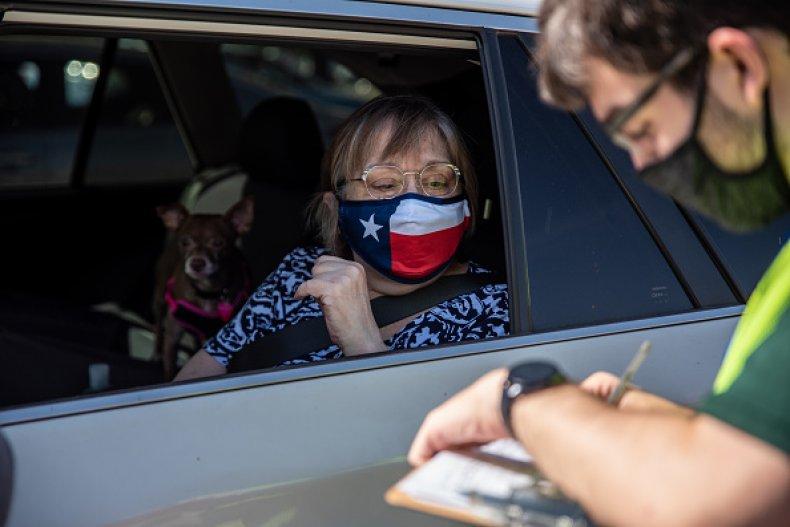 Drive Thru Polling Texas