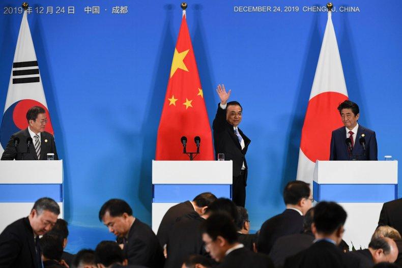 china, japan, south, korea, leaders, meeting