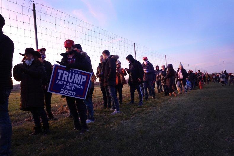 Trump Kenosha rally