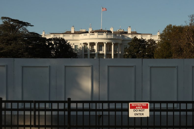 White House wall
