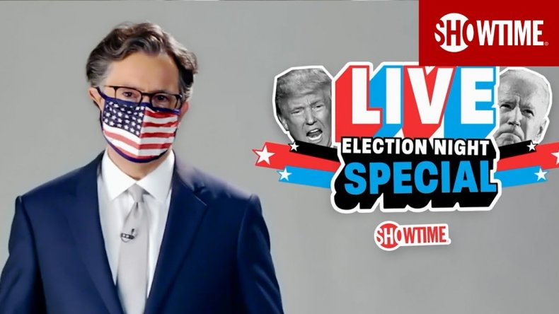 stephen colbert election night special