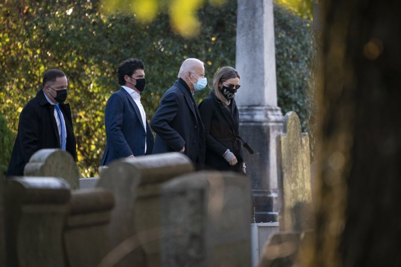 Joe BIden, Beau Biden, grave, church, visit