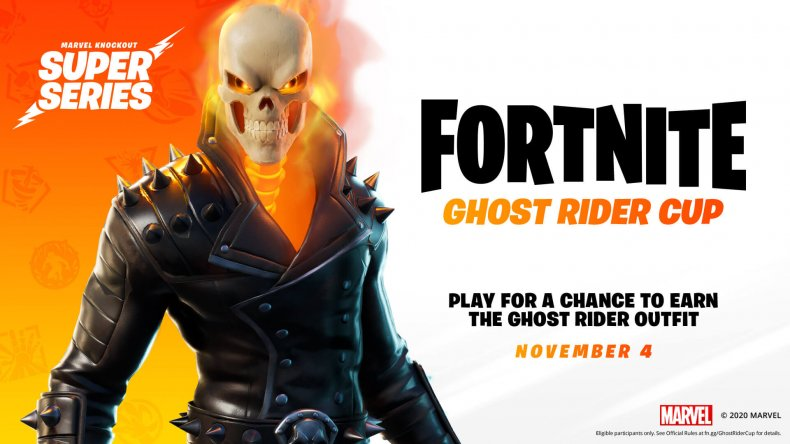 fortnite ghost rider cup date