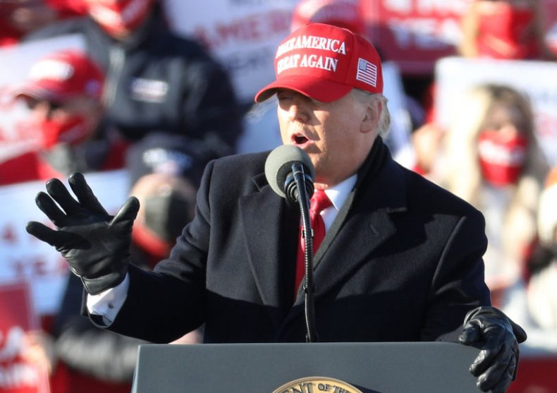 President Donald Trump Avoca