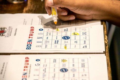 Biden Trump Bingo Card