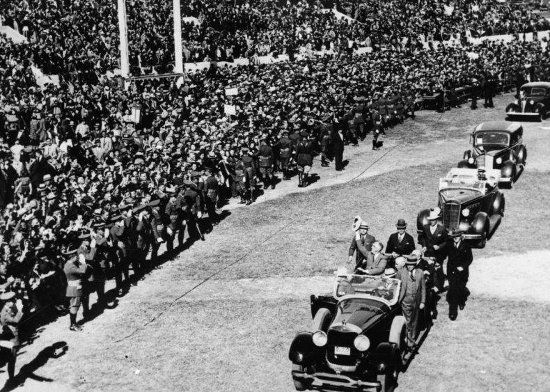 #55. 1936: Franklin Roosevelt vs. Alf Landon