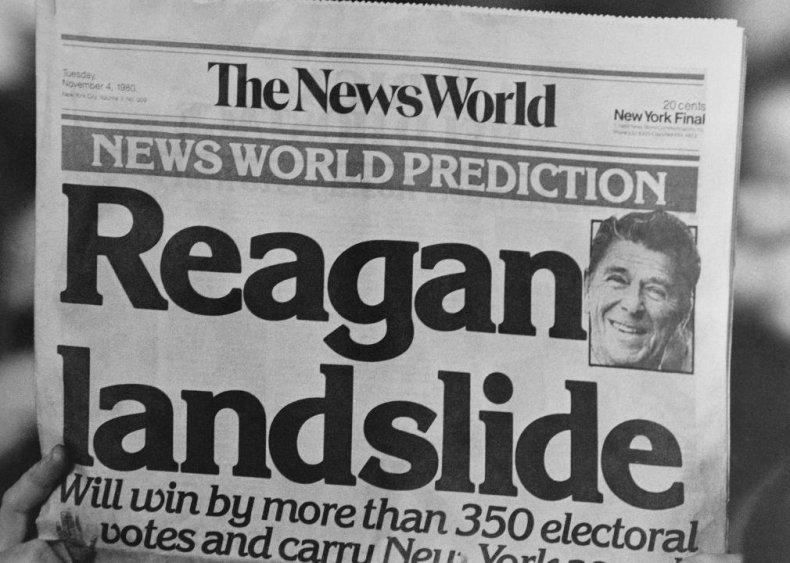 #50. 1980: Ronald Reagan vs. Jimmy Carter