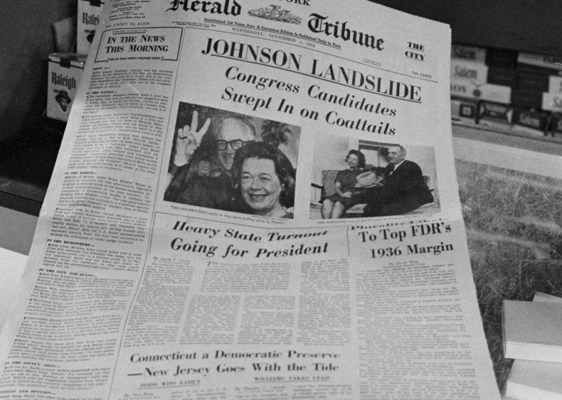 #49. 1964: Lyndon Johnson vs. Barry Goldwater