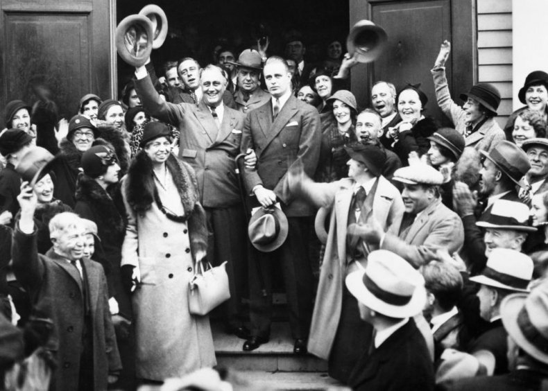 #48. 1932: Franklin Roosevelt vs. Herbert Hoover