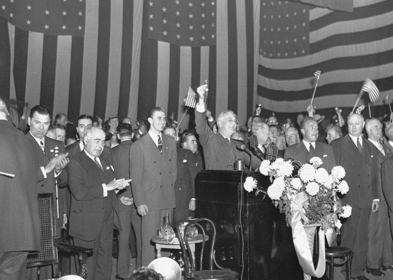 #45. 1940: Franklin Roosevelt vs. Wendell Willkie