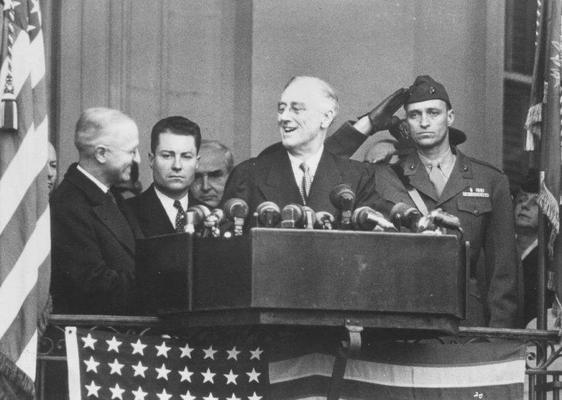 #39. 1944: Franklin Roosevelt vs. Thomas Dewey