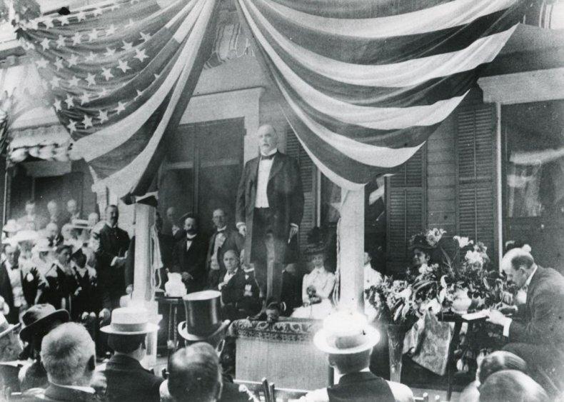 #25. 1900: William McKinley vs. William Jennings Bryan