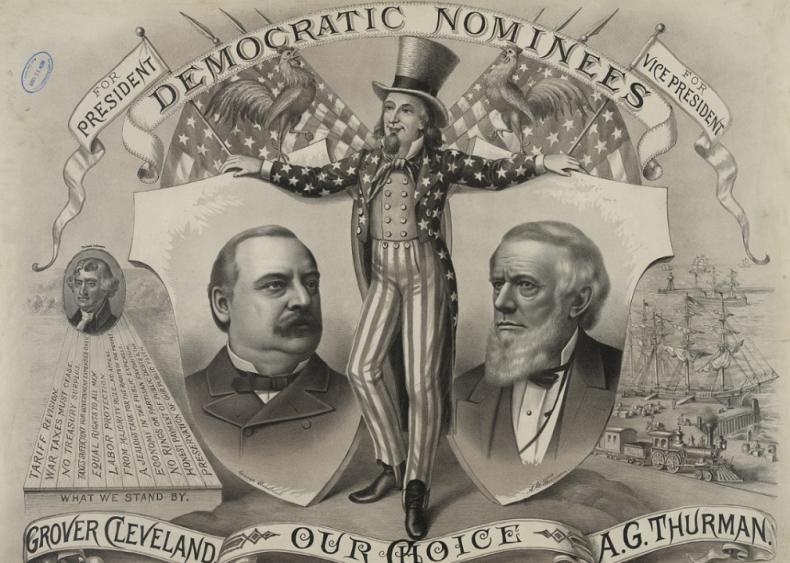 #24. 1892: Grover Cleveland vs. Benjamin Harrison