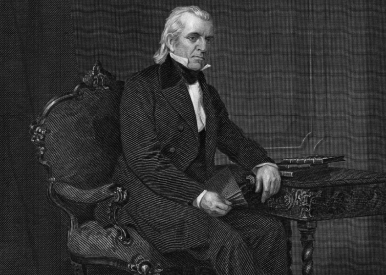 #23. 1844: James Polk vs. Henry Clay