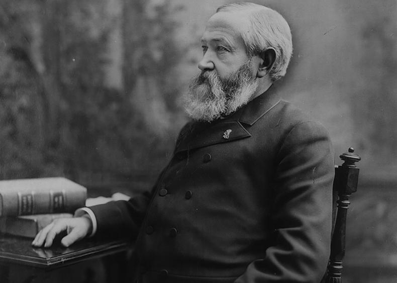#17. 1888: Benjamin Harrison vs. Grover Cleveland