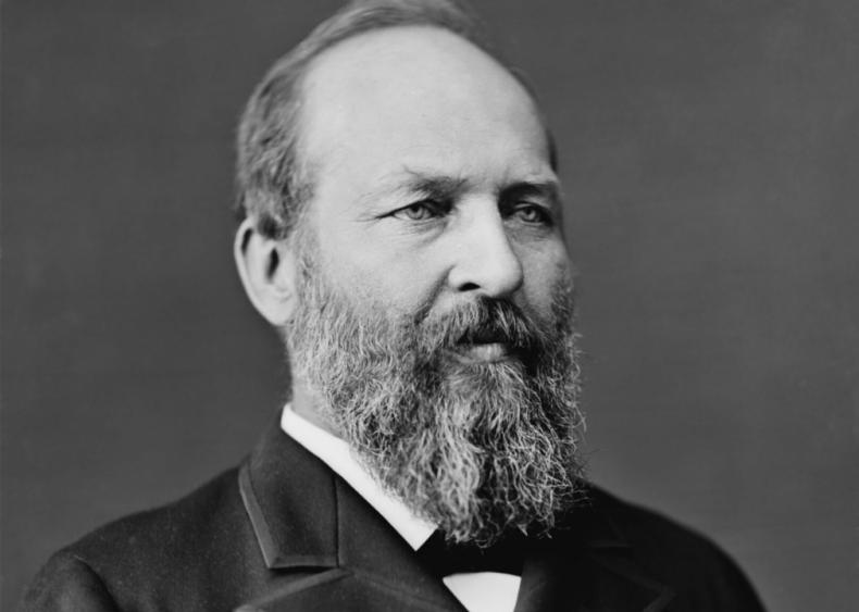 #16. 1880: James Garfield vs. Winfield Scott Hancock