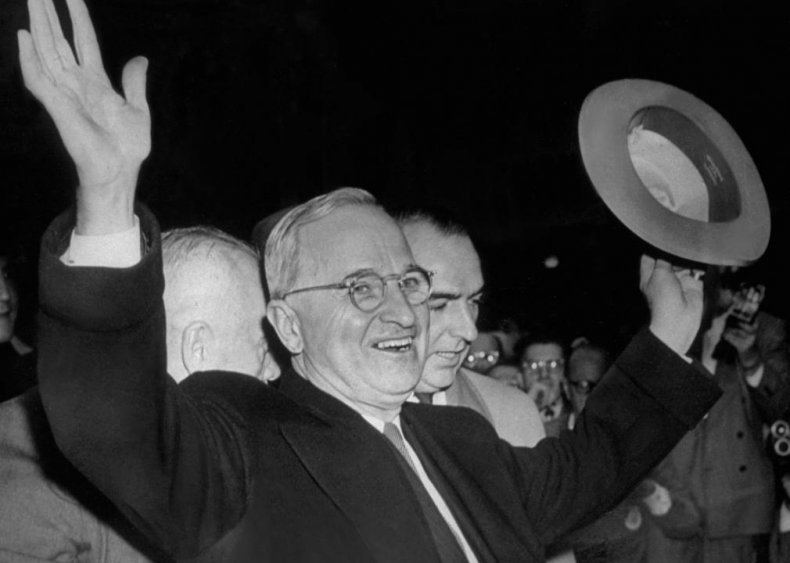 #14. 1948: Harry Truman vs. Thomas Dewey
