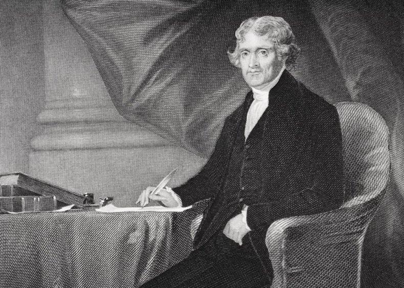 #6. 1800: Thomas Jefferson vs. John Adams