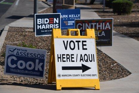 Arizona voting October 2020
