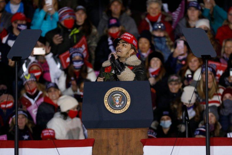 Lil Pump Trump Rally