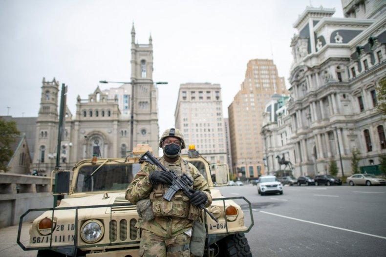 National Guard Philadelphia Pennsylvania