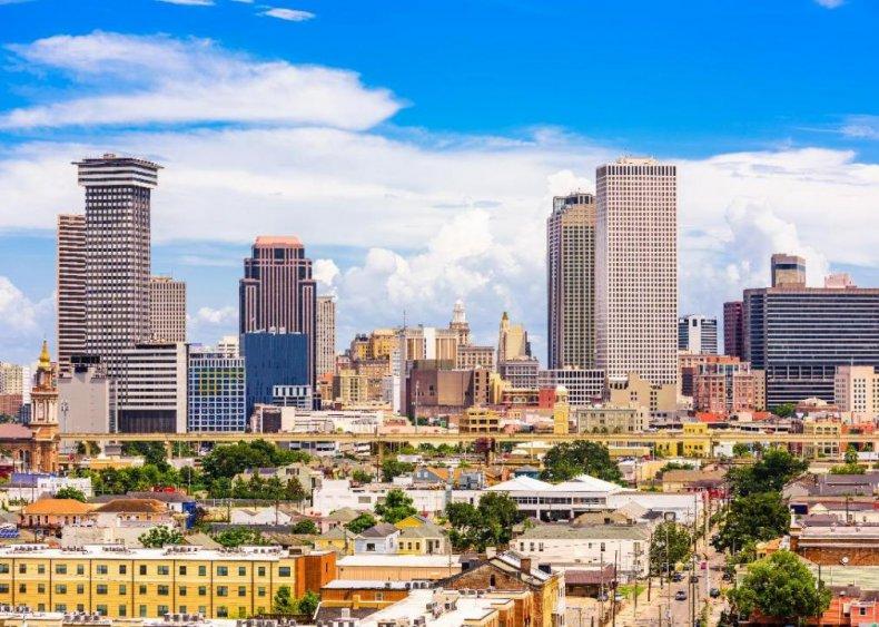 #25. Louisiana