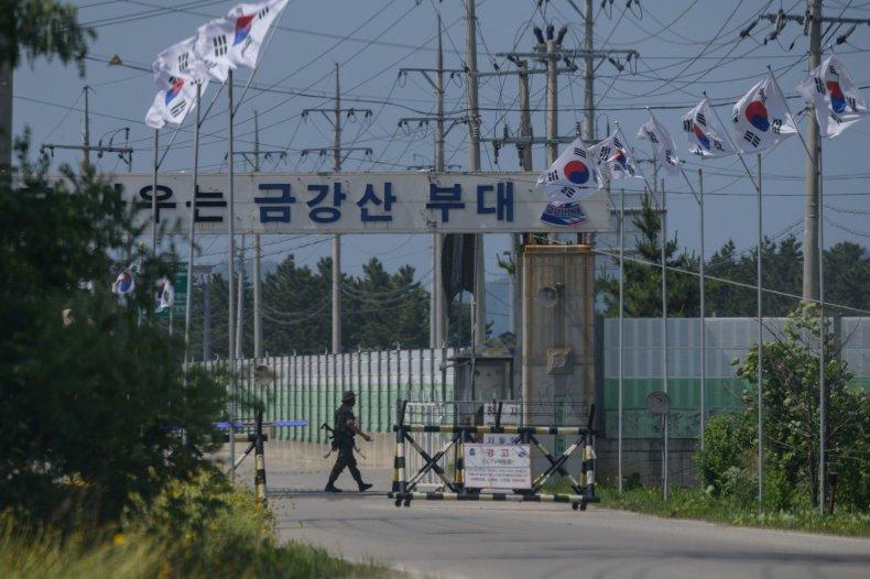 north, south, korea, border