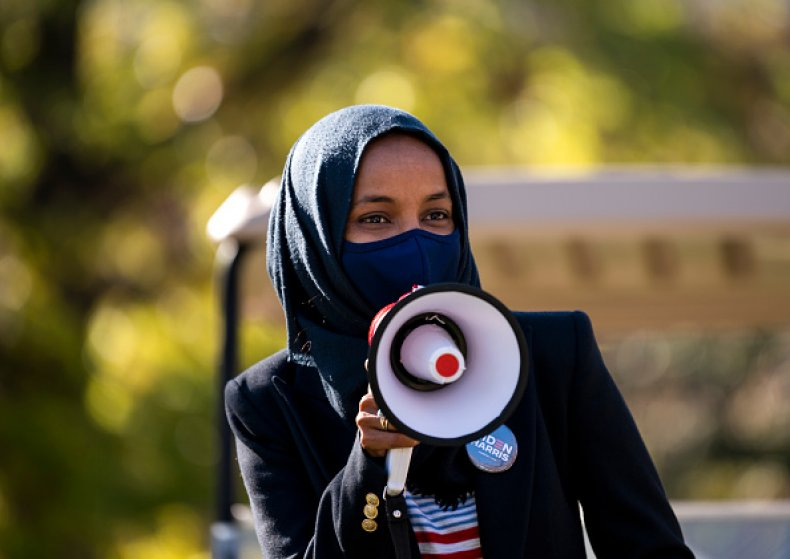 Ilhan Omar Election Day