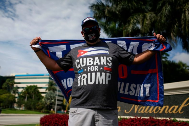 Cubans for Trump supporter in Florida