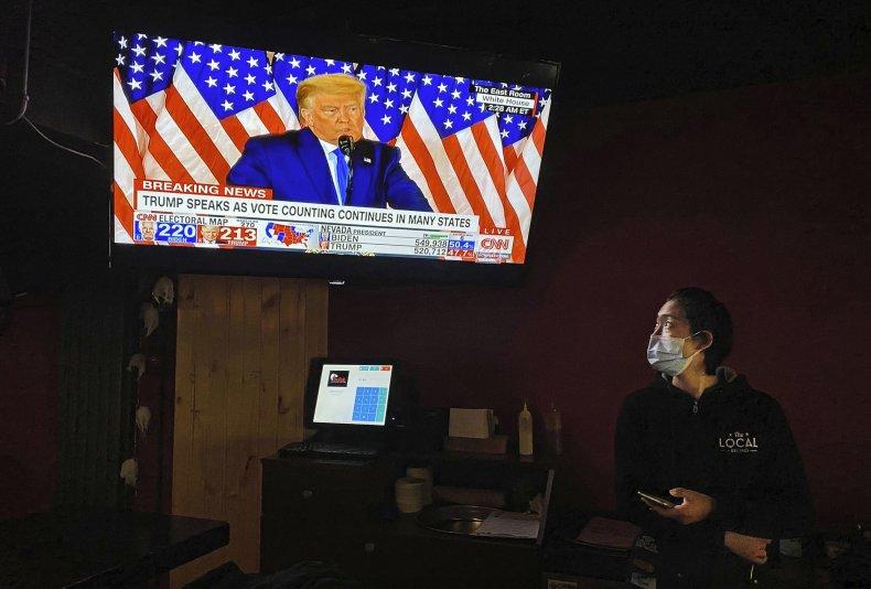 Donald Trump, AOC, election, win, speech, illegitimate