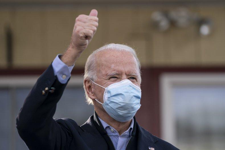 Joe Biden in Pennsylvania November 2020