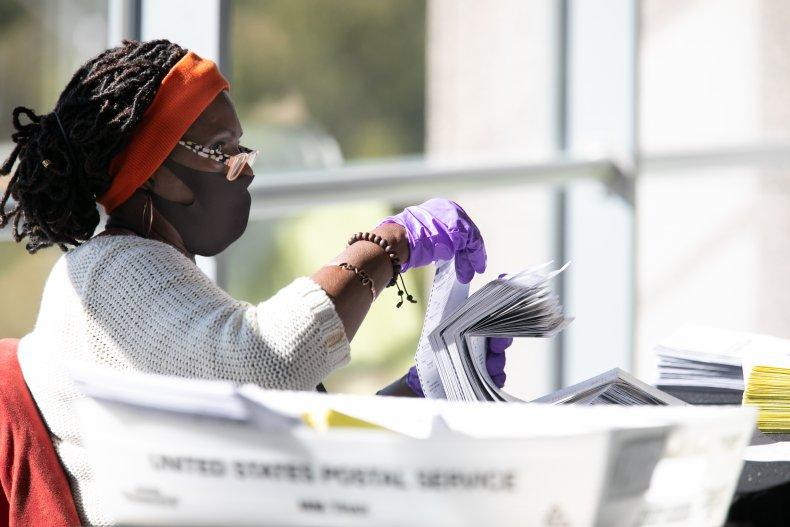 Counting ballots in GA