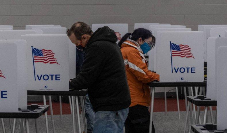 Michiganders vote